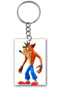 Chaveiro Crash Bandicoot - Nerd e Geek - Presentes Criativos