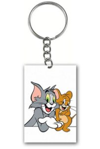 Chaveiro Tom e Jerry - Nerd e Geek - Presentes Criativos