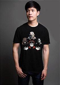 Camiseta Masculina  Street Fighter Bohemian Rhapsody - Nerd e Geek - Presentes Criativos
