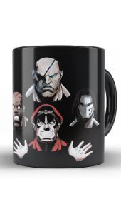 Caneca Street Fighter Bohemian Rhapsody - Nerd e Geek - Presentes Criativos