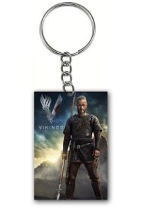 Chaveiro Vikings - Nerd e Geek - Presentes Criativos