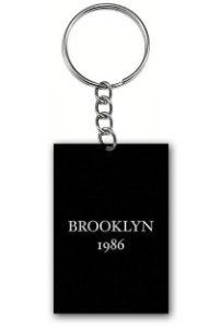 Chaveiro Brooklyn 1986 - Nerd e Geek - Presentes Criativos