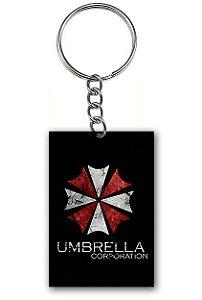 Chaveiro Umbrella Corporation - Nerd e Geek - Presentes Criativos