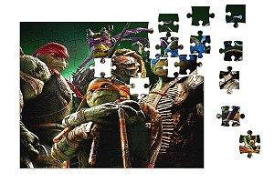 Quebra-Cabeça Tartarugas Ninjas 90 pçs - Nerd e Geek - Presentes Criativos