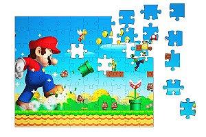 Quebra-Cabeça Super Mario 90 pçs - Nerd e Geek - Presentes Criativos