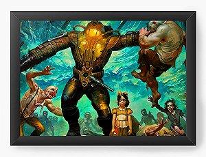 Quadro Decorativo The BioShock Game