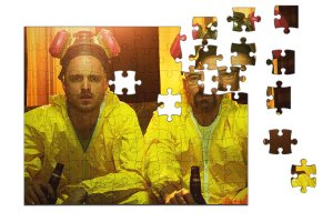 Quebra-Cabeça Breaking Bad 90 pçs - Nerd e Geek - Presentes Criativos