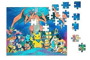 Quebra-Cabeça Pokemon 90 pçs