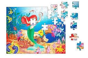 Quebra-Cabeça Ariel 90 pçs - Nerd e Geek - Presentes Criativos