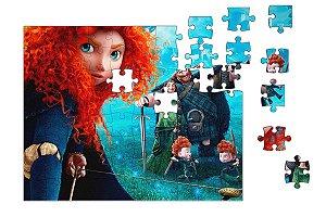 Quebra-Cabeça Valente 90 pçs - Nerd e Geek - Presentes Criativos