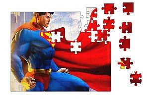 Quebra-Cabeça Supermen 90 pçs - Nerd e Geek - Presentes Criativos