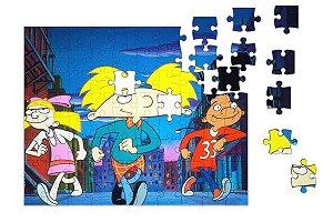 Quebra-Cabeça Hey Arnold pçs 90 - Nerd e Geek - Presentes Criativos