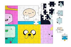 Quebra-Cabeça Hora da Aventura  pçs 90 - Nerd e Geek - Presentes Criativos