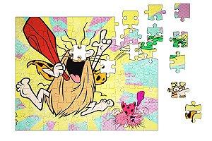 Quebra-Cabeça Capitão Caverna pçs 90 - Nerd e Geek - Presentes Criativos