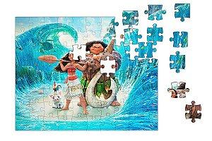 Quebra-Cabeça Moana 90 pçs - Nerd e Geek - Presentes Criativos