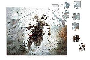 Quebra-Cabeça Assassin's Creed pçs 90 - Nerd e Geek - Presentes Criativos