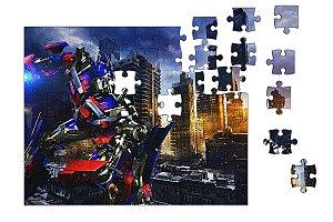 Quebra-Cabeça Transformers 90 pçs - Nerd e Geek - Presentes Criativos
