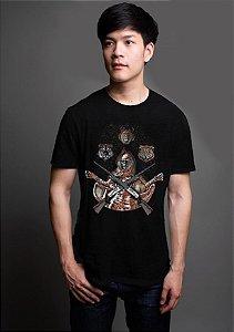 Camiseta Caçador - Skull
