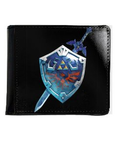 Carteira The Legend of Zelda - Nerd e Geek - Presentes Criativos