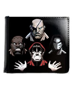 Carteira 4 Face Street Fighter - Nerd e Geek - Presentes Criativos