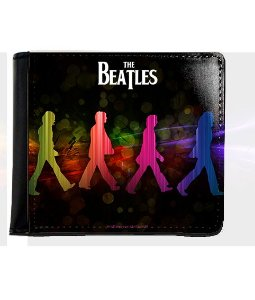 Carteira The Beatles - Nerd e Geek - Presentes Criativos