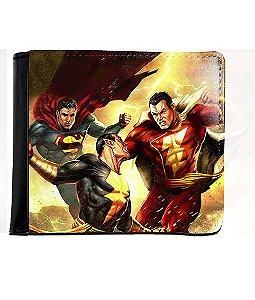 Carteira Supermen - Nerd e Geek - Presentes Criativos