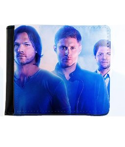 Carteira Supernatural - Dean, Sam e Castiel - Nerd e Geek - Presentes Criativos