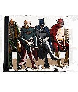 Carteira Batman, Supermen, Flash Idosos - Nerd e Geek - Presentes Criativos
