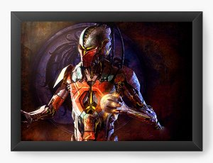 Quadro Decorativo Mortal Kombat X Games - Nerd e Geek - Presentes Criativos