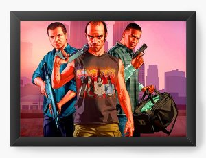 Quadro Decorativo Grand Theft Auto
