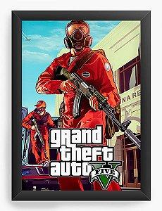 Quadro Decorativo The Grand Theft Auto Five