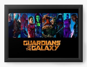 Quadro Decorativo Guardians of the Galaxy - Characters