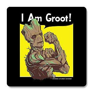 Imã de Geladeira I Am Groot