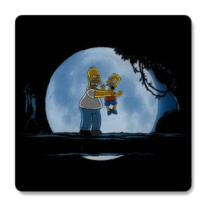 Imã de Geladeira Hakuna Matata - Simpsons - Nerd e Geek - Presentes Criativos