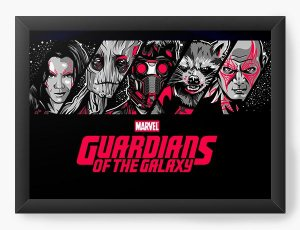 Quadro Decorativo Marvel - Guardians of the Galaxy