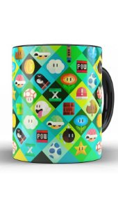 Caneca Super Mario Word Bros