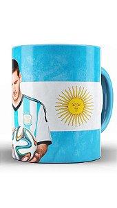 Caneca Seleção Da Argentina - Messi - Nerd e Geek - Presentes Criativos ff75a88030557