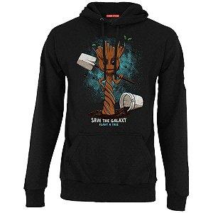 Blusa com Capuz Guardiões das Galaxia - Groot