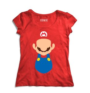 Camiseta Feminina Super Mario Word - Nerd e Geek - Presentes Criativos