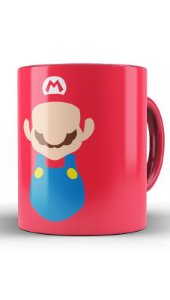 Caneca Super Mario Word - Game