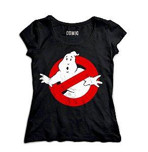 Camiseta Feminina Caças Fantasmas - Nerd e Geek - Presentes Criativos
