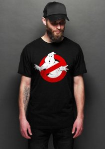 Camiseta Masculina  Os Caça-Fantasmas - Nerd e Geek - Presentes Criativos