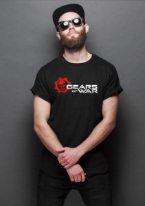 Camiseta Masculina  Gears of War - Nerd e Geek - Presentes Criativos