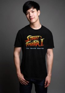 Camiseta Masculina  Street Fighter - Nerd e Geek - Presentes Criativos