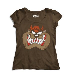 Camiseta Feminina Taz