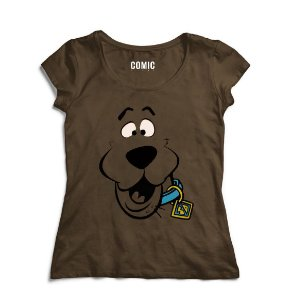 Camiseta Feminina Scooby-Doo - Nerd e Geek - Presentes Criativos