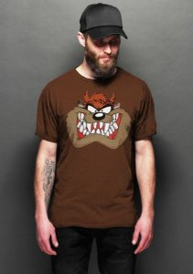 Camiseta Masculina  Taz - Looney Tunes - Nerd e Geek - Presentes Criativos