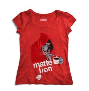 Camiseta Feminina Thundercats Matte Lion - Nerd e Geek - Presentes Criativos