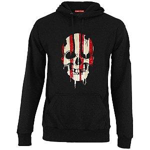 Blusa com Capuz Skull