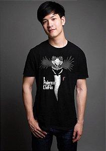 Camiseta Masculina  Robotnik O Poderoso Chefão - Nerd e Geek - Presentes Criativos